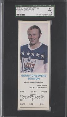 1970-71 Dad's Cookies #GECH - Gerry Cheevers [SGC96]