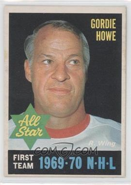 1970-71 O-Pee-Chee - [Base] #238 - Gordie Howe