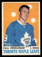 Paul Henderson [EXMT]