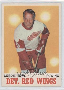 1970-71 O-Pee-Chee #29 - Gordie Howe