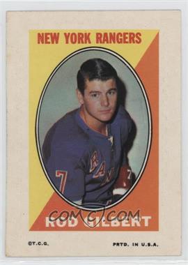 1970-71 Topps - Sticker Stamps #ROGI - Rod Gilbert