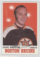 Gerry Cheevers [GoodtoVG‑EX]