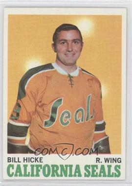 1970-71 Topps #76 - Bill Hicke