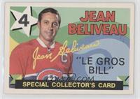 Jean Beliveau [GoodtoVG‑EX]