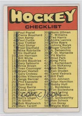 1971-72 O-Pee-Chee #111 - [Missing]