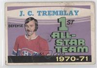 1st All-Star Team 1970-71 (J.C. Tremblay)