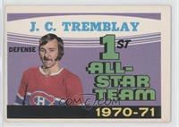 1st All-Star Team 1970-71 (J.C. Tremblay)