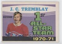 1st All-Star Team 1970-71 (J.C. Tremblay) [GoodtoVG‑EX]