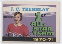 1st All-Star Team 1970-71 (J.C. Tremblay) [Good to VG‑EX]