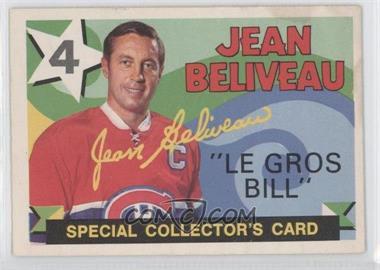 1971-72 O-Pee-Chee #263 - Jean Beliveau [GoodtoVG‑EX]
