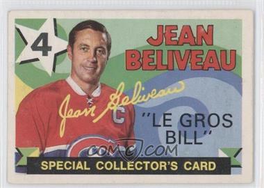 1971-72 O-Pee-Chee #263 - Jean Beliveau