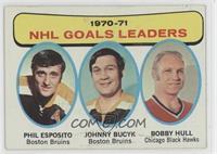 Phil Esposito, John Bucyk, Bobby Hull