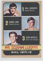 Phil Esposito, Jean Ratelle, Bobby Orr [PoortoFair]