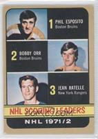 Phil Esposito, Jean Ratelle