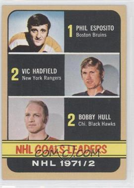1972-73 Topps #61 - Phil Esposito, Vic Hadfield, Bobby Hull