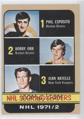 1972-73 Topps #63 - Phil Esposito, Jean Ratelle