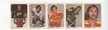 1973-74 Quaker Oats WHA #46 - Don Herriman, Jim Dorey, Danny Lawson, Dick Paradise, Bobby Hull