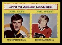 Phil Esposito, Bobby Clarke [NM MT]