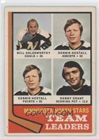 Bill Goldsworthy, Dennis Hextall, Danny Grant [GoodtoVG‑EX]