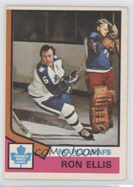 1974-75 O-Pee-Chee - [Base] #12 - Ron Ellis