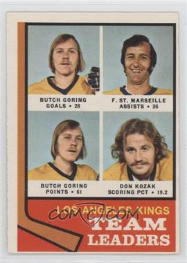 1974-75 O-Pee-Chee - [Base] #98 - Los Angeles Kings Team