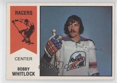 1974-75 O-Pee-Chee WHA #12 - Bob Whitlock