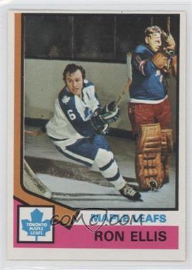 1974-75 O-Pee-Chee #12 - Ron Ellis