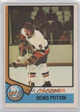 1974-75 O-Pee-Chee #195 - Denis Potvin