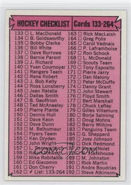 1974-75 Topps #162 - [Missing]