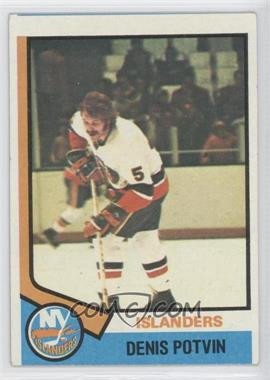 1974-75 Topps #195 - Denis Potvin