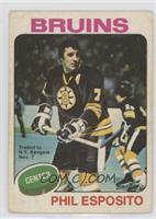 Phil Esposito (Trade with Chicago on front) [Poor to Fair]