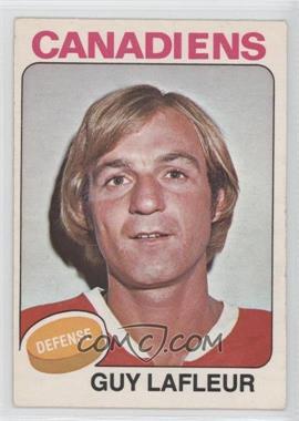 1975-76 O-Pee-Chee #126 - Guy Lafleur