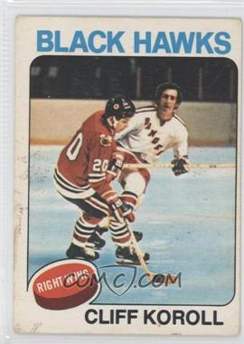 1975-76 O-Pee-Chee #139 - Cliff Koroll