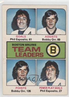 1975-76 O-Pee-Chee #314 - Phil Esposito