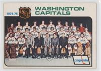 Washington Capitals Team [Good to VG‑EX]