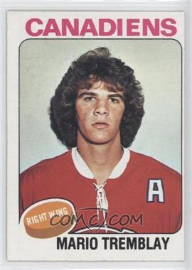 1975-76 Topps - [Base] #223 - Mario Tremblay