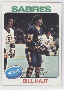 1975-76 Topps - [Base] #233 - Bill Hajt