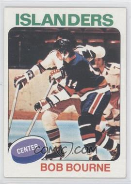 1975-76 Topps #163 - Bob Bourne