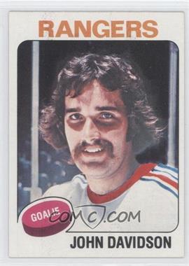 1975-76 Topps #183 - John Davidson