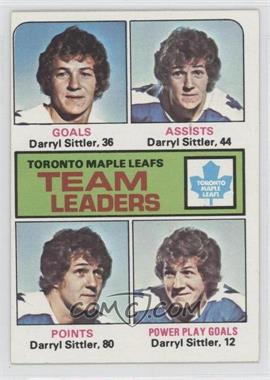 1975-76 Topps #328 - Darryl Sittler