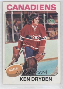 1975-76 Topps #35 - Ken Dryden