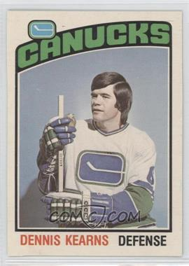 1976-77 O-Pee-Chee - [Base] #338 - Dennis Kearns [GoodtoVG‑EX]