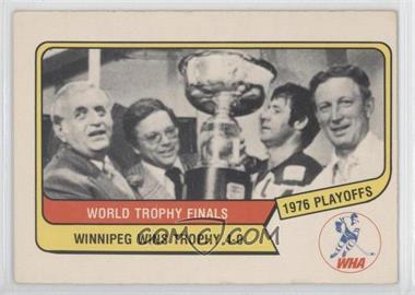 1976-77 O-Pee-Chee WHA - [Base] #132 - Winnipeg Jets Team