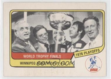 1976-77 O-Pee-Chee WHA #132 - Winnipeg Jets Team