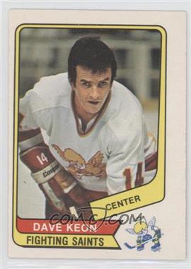 1976-77 O-Pee-Chee WHA #52 - Dave Keon