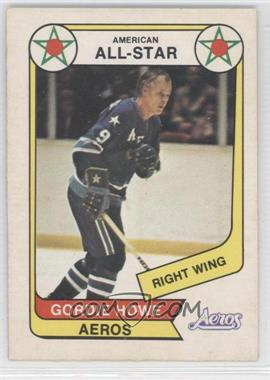 1976-77 O-Pee-Chee WHA #72 - Gordie Howe