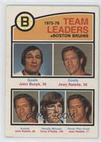 John Bucyk, Jean Ratelle, Terry O'Reilly