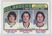 New York Islanders Team, Clark Gillies, Bryan Trottier, Billy Harris [Good&nbsp…