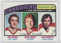 Bob Gainey, Doug Jarvis, Jimmy Roberts
