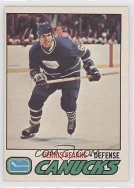 1977-78 O-Pee-Chee - [Base] #175 - Dennis Kearns
